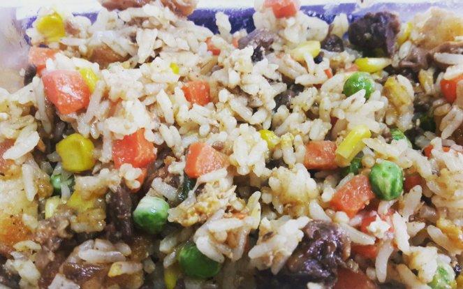 shawarma rice