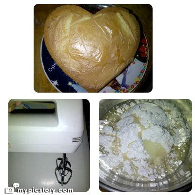 Heart Chiffon Cake