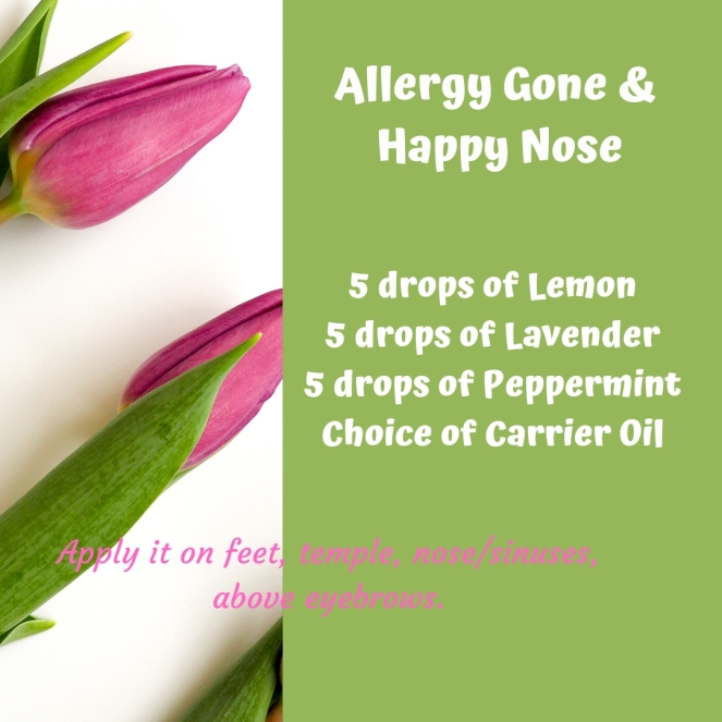 essential oil for allergy
